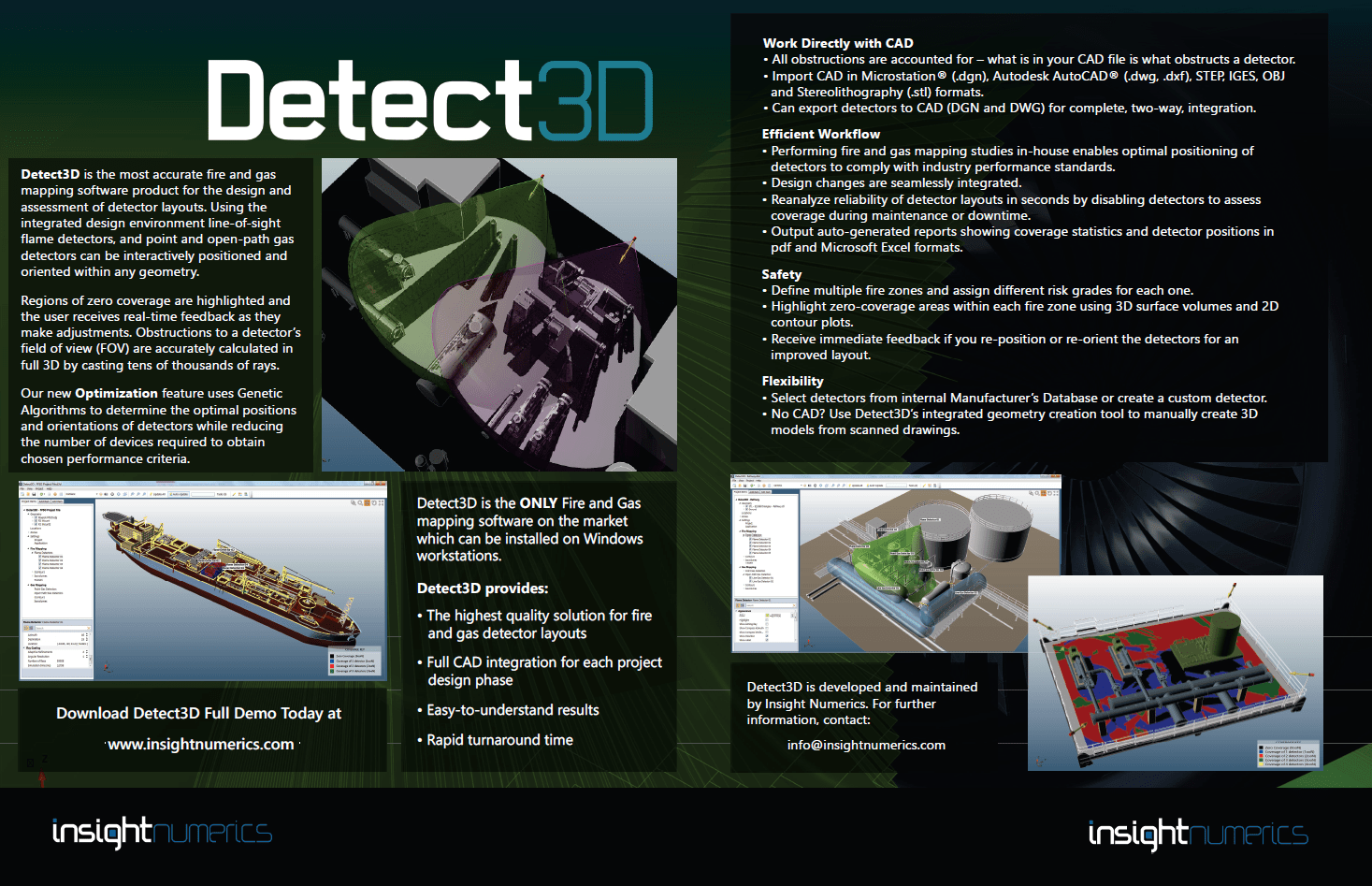 Detect3D Fire and Gas Mapping Software Brochure