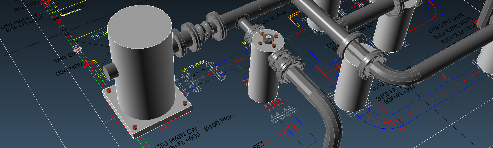 Detect3D-CAD-Creation-Pipes