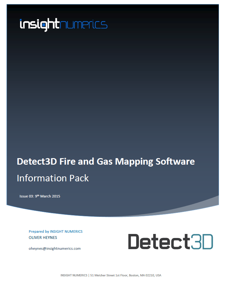Detect3D Fire and Gas Mapping Software Information Pack