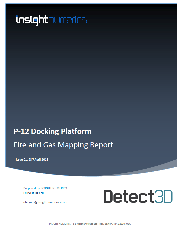 Detect3D Fire and Gas Mapping Software Sample Report