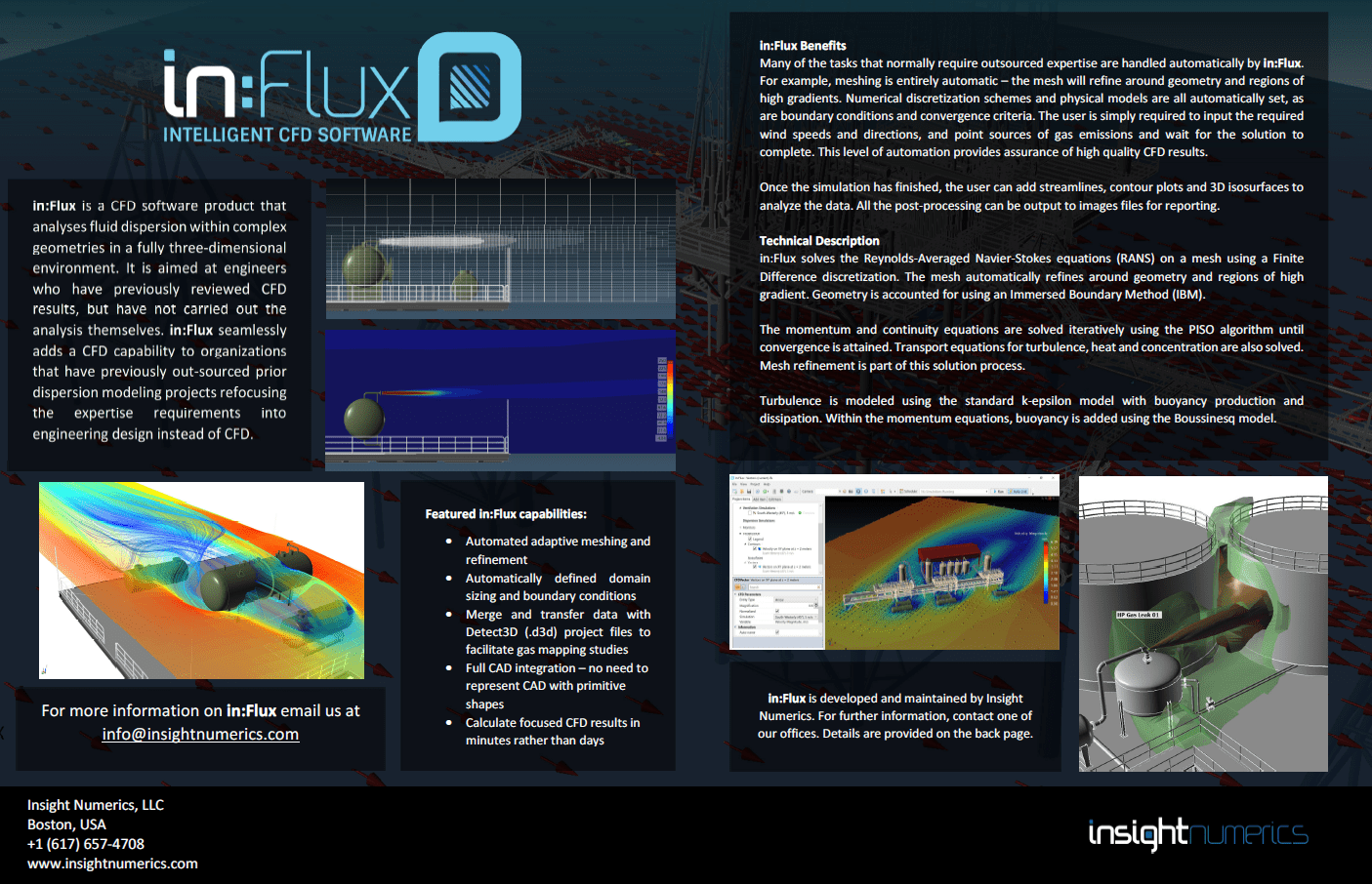 in:Flux Intelligent CFD Software Brochure