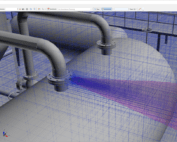inFlux Adaptive Automated Meshing