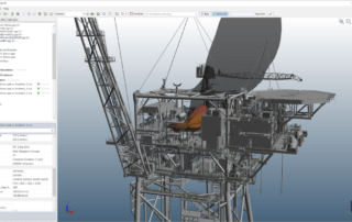 inFlux CFD Fire Model Offshore Example