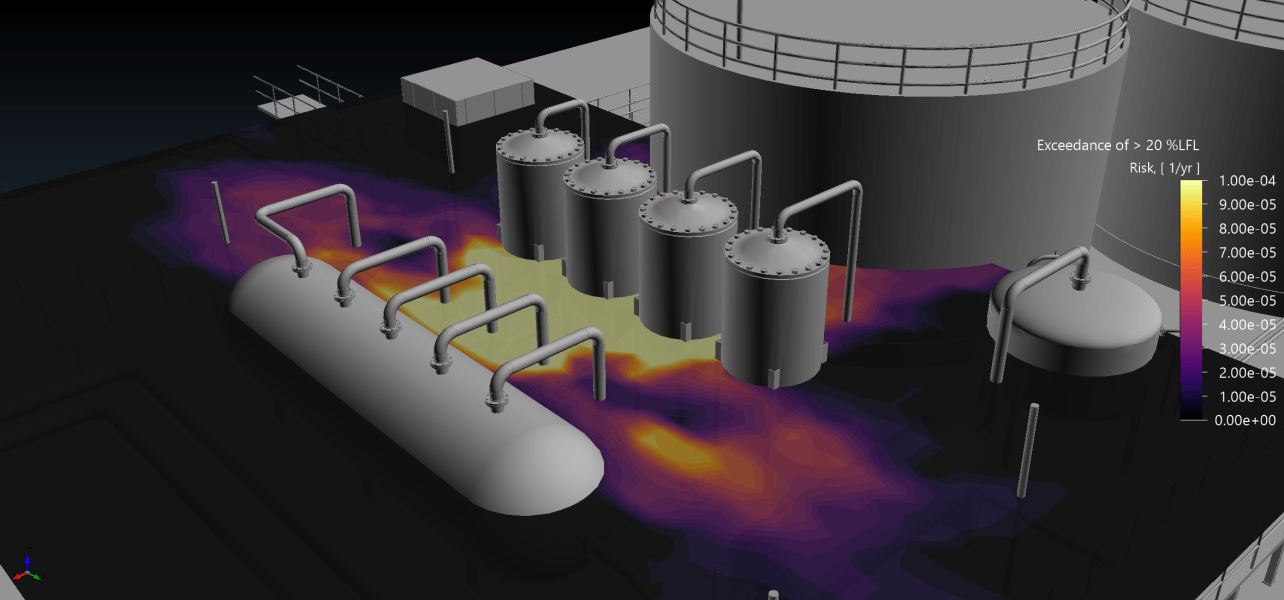 Fire and Gas Mapping in 2021