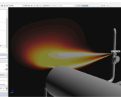 Fire Modeling Background of Temp with IFX window